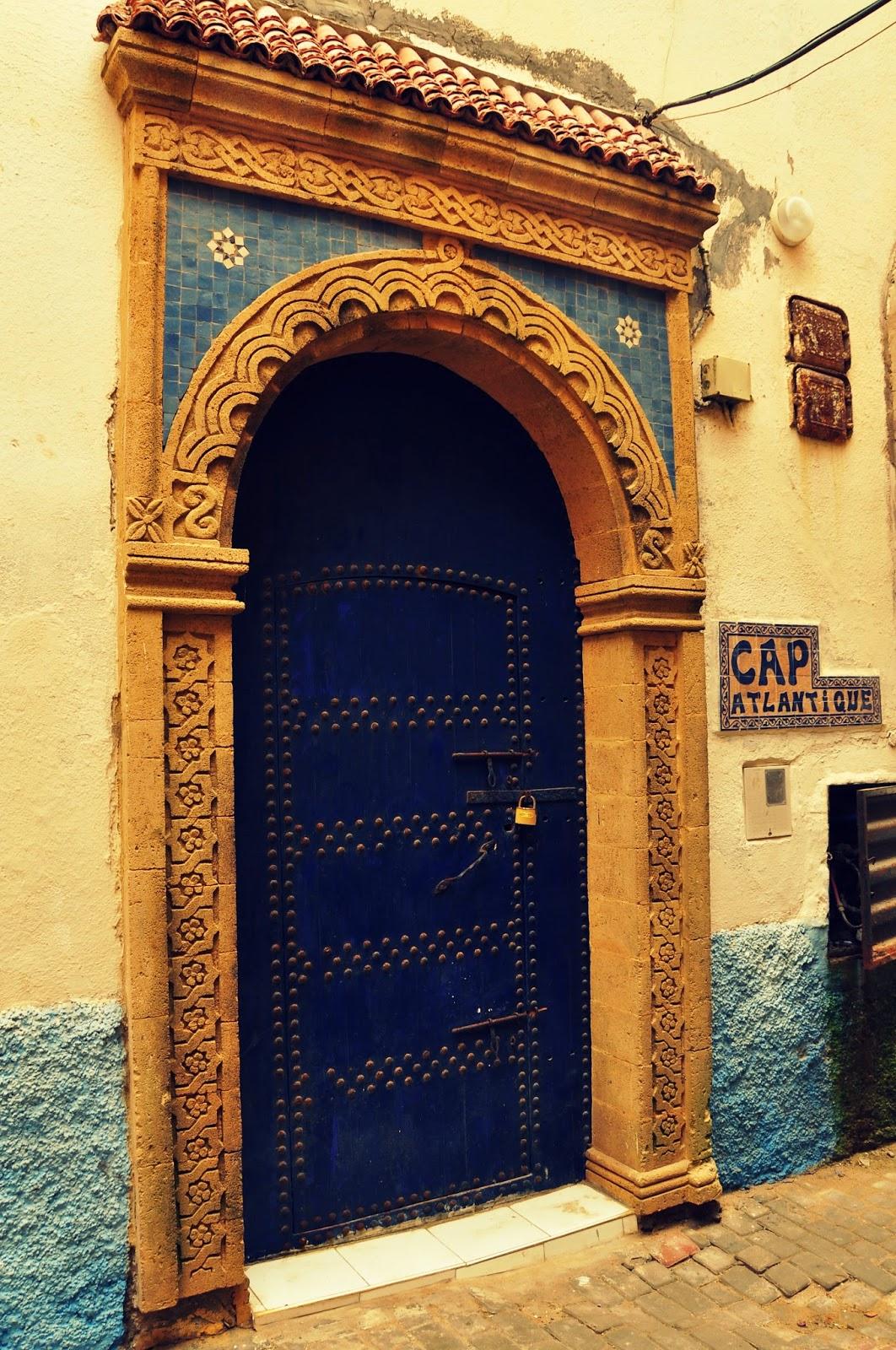 puertas antguas en Marruecos, puertas con encanto