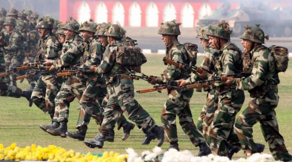 Indian army Strike images