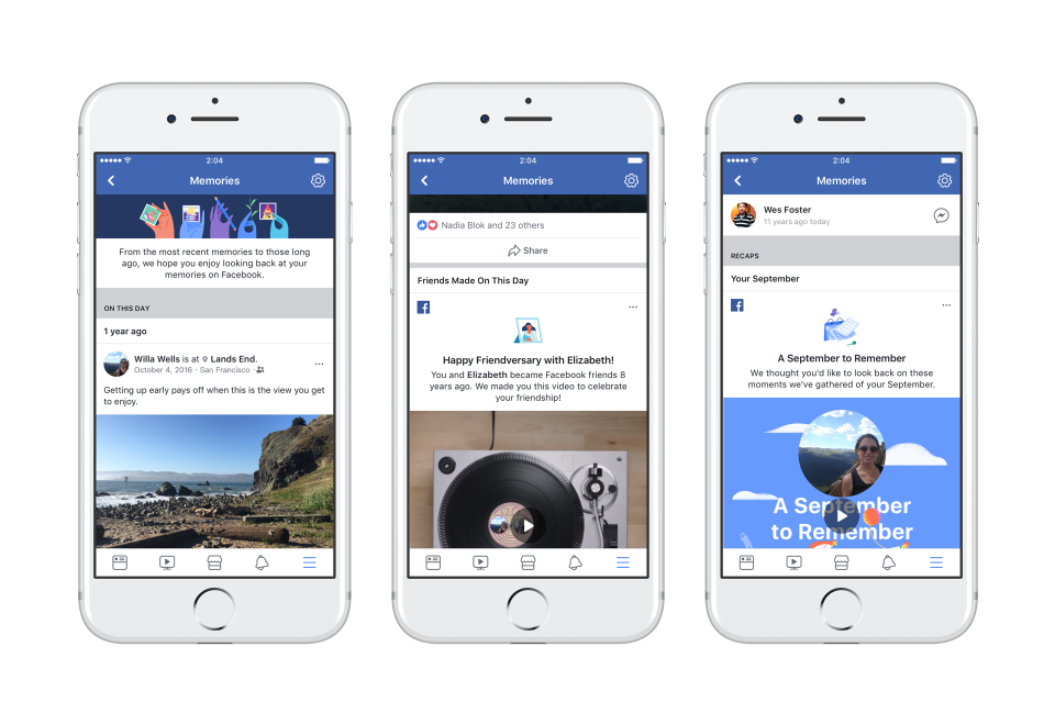 All of Your Facebook Memories Are Now in One Place
