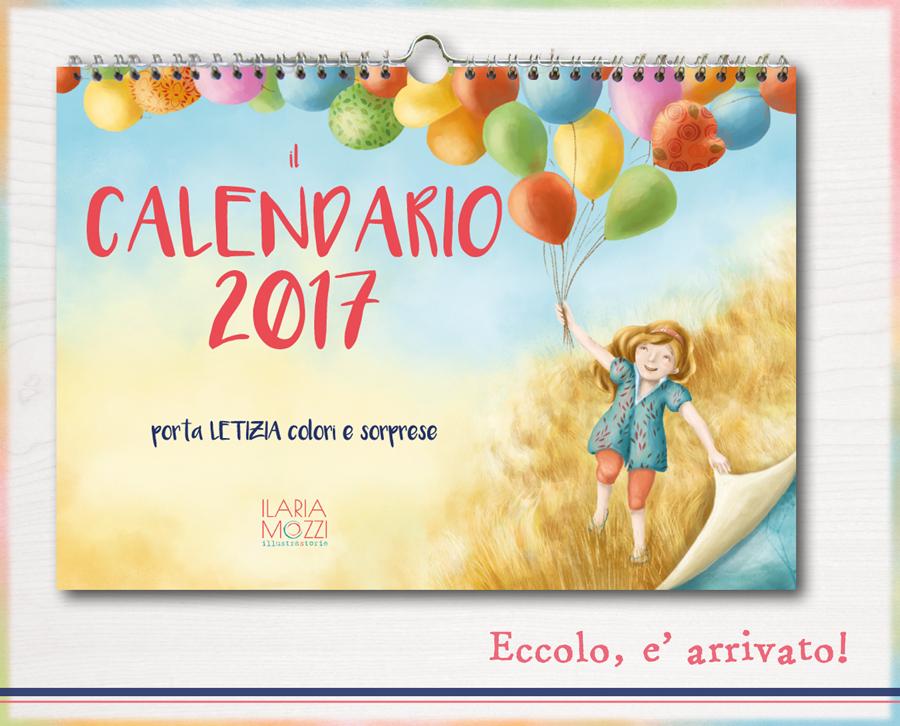 Calendario Illustrato.Calendario E Agenda 2017