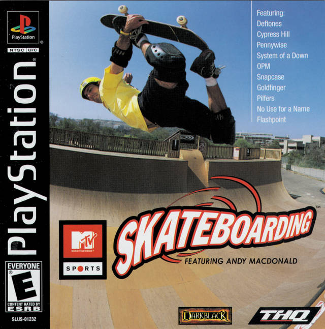 MTV Sports - Skateboarding featuring Andy MacDonald - PS1 - ISOs Download