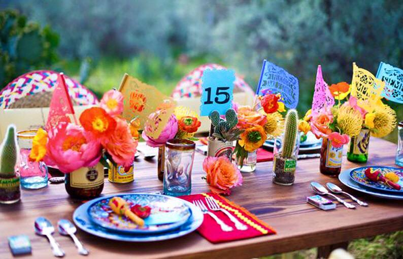 Estilo Mexicano Ideas Para Decoracion ~   tu fiesta al estilo Frida Kahlo  Artes DaVinci  Ideas con Estilo
