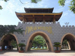 Porta di ingresso al Vinpearl a Nha Trang