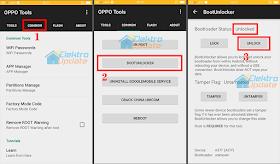 Cara Mudah Unlock Bootloader (UBL) All Type Oppo Smartphone
