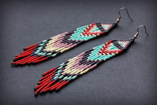 купить необычные этничские украшения в стиле бохо в интернет магазине