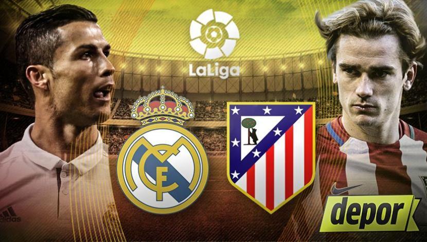 Atlético Madrid Vs Real Madrid: REAL MADRID Vs ATLETICO MADRID EN VIVO POR INTERNET ONLINE