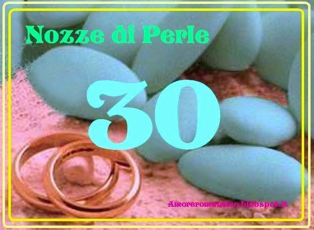 Anniversario 30 Anni Di Matrimonio.Amore Romantico 30 Anni Di Matrimonio Nozze Di Perle
