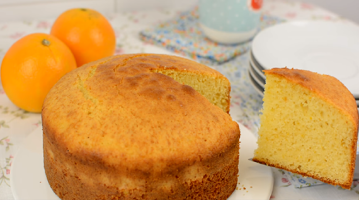 Simple Whole Orange Cake Recipe