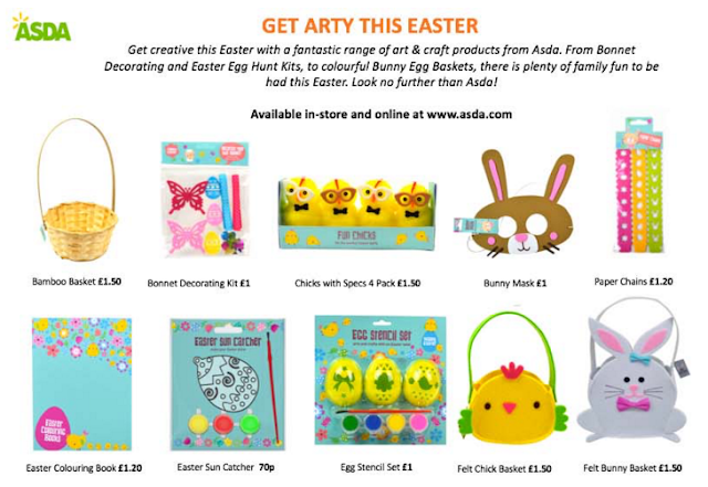 Asda Easter goodies
