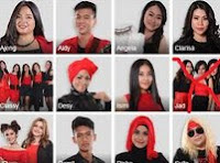 11 CONTESTANTS X FACTOR 2015 - WHAT A FEELING (Irene Cara) - Result & Reunion - X Factor Indonesia 2015