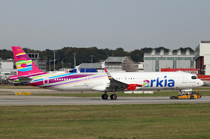 1st A321N for Arkia