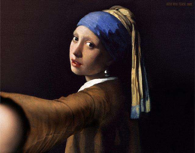 Girl With A Pearl Earring - Jan Vermeer, 1665