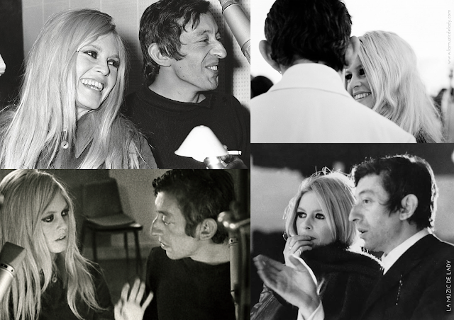 Initials BB Serge Gainsbourg Brigitte Bardot La Muzic de Lady