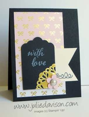 August 2015 Paper Pumpkin Chalk It Up To Love: Two Alternative Card Ideas #paperpumpkin #stampinup www.juliedavison.com