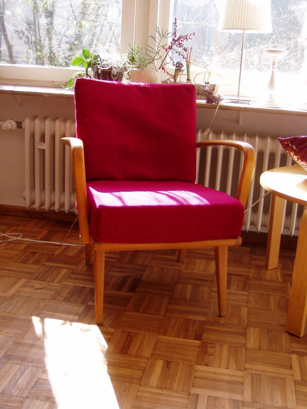 sewing addicted naehsucht vorher nachher 60er jahre sessel. Black Bedroom Furniture Sets. Home Design Ideas