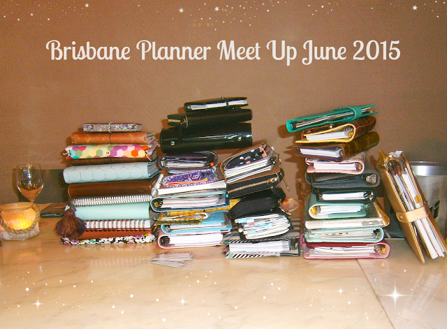 Planner Stack from Brisbane Planner Meet Up