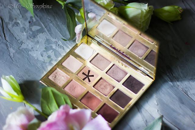 Повседневный макияж бюджетной косметикой: оттенок Smarty Pants из палетки Tartelette In Bloom от Tarte