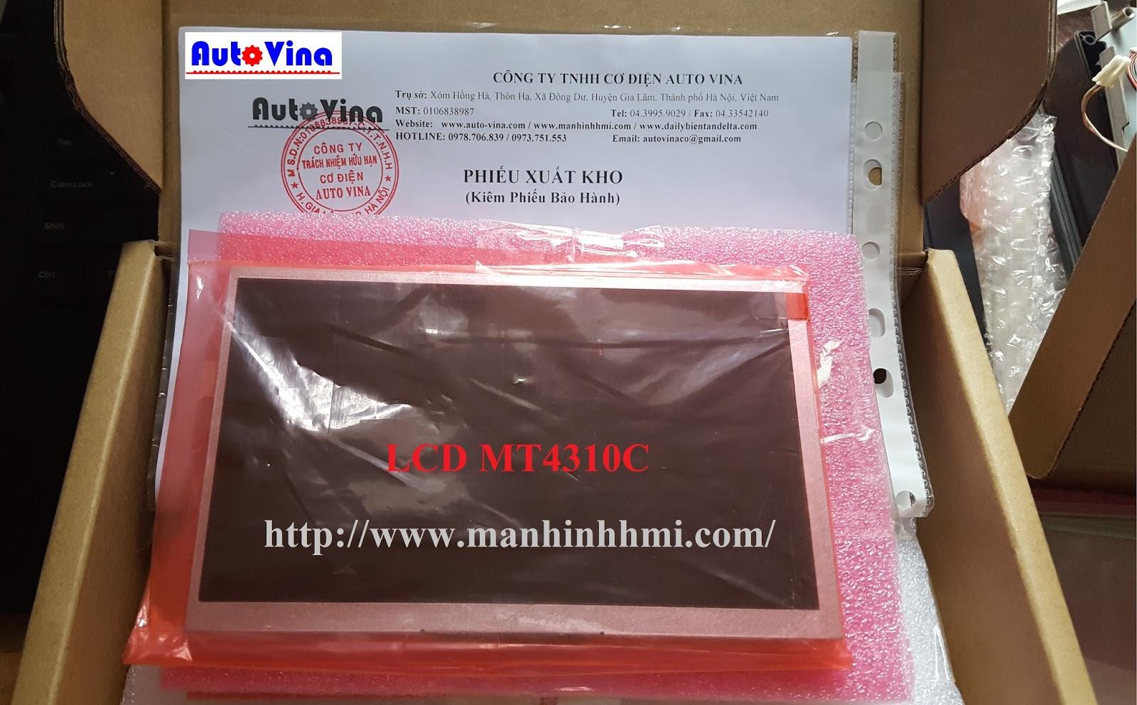 Bán LCD, màn hình hiển thị, màn hình cảm ứng HMI Kinco MT4310C