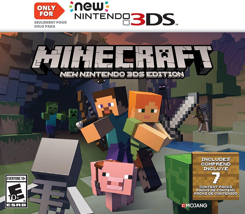 Minecraft New Nintendo DS Edition Download DS CIAs - Minecraft spiele fur nintendo