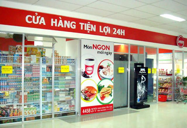 Cửa hàng tiêu dùng tiện lợi dự án New Space Giang Biên