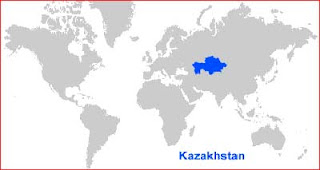 image: Kazakhstan Map Location