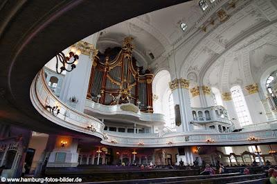 Sankt Michaelis Kirche Hamburg Innen Orgel