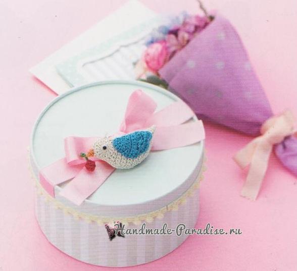 Схемы вязания птичек амигуруми (5)