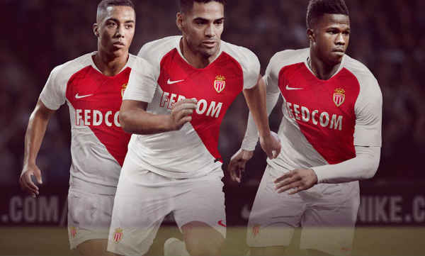 f1315cd60 AS Monaco 2018 19 Kit - Dream League Soccer 2019 - Gamer Ghar