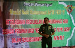 Pangdam Iskandar Muda : Jangan Sampai Umat Islam Terpecah Belah - Commando