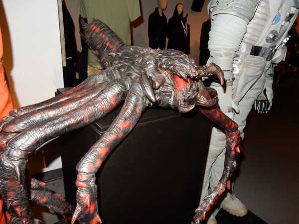 Doctor Who Kill the Moon spider prop