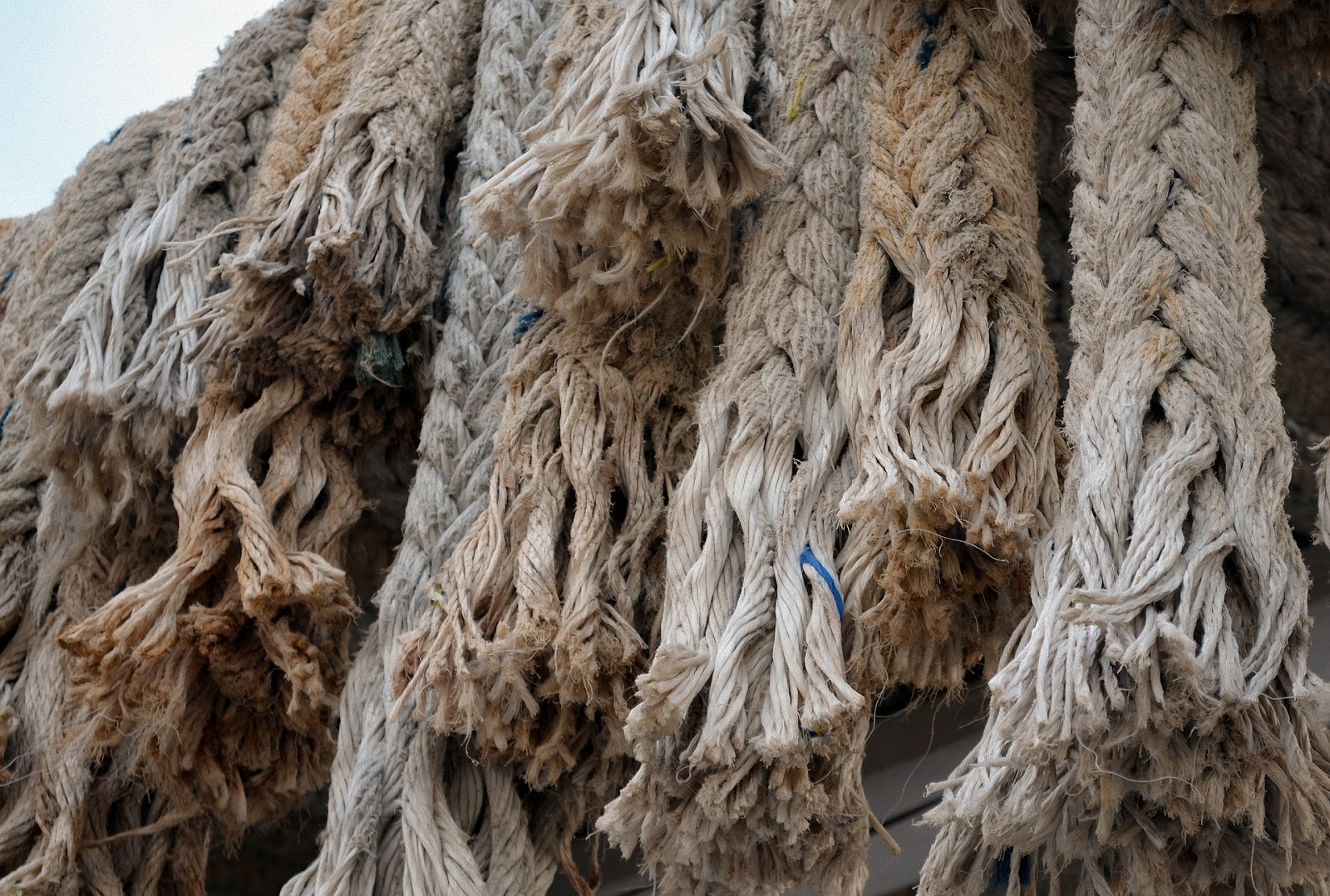 Kleines Faserlexikon - Pflanzenfaser Hanfseile