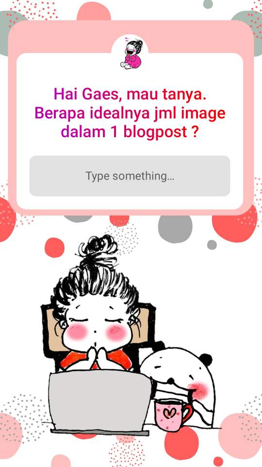 survey jumlah ideal foto untuk blog