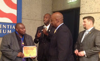 Apalachicola Florida Mayor Van Johnson receives the iChange Nations Global Leadership Award