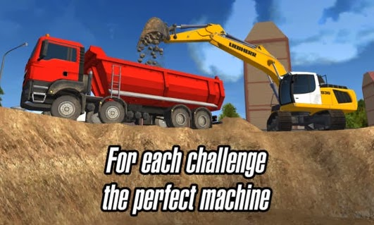 Gameplay Construction Machines 2014