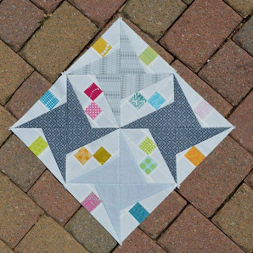 Paper Piecing with less waste - Tutorial