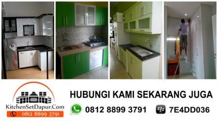 Jasa Kitchen Set Bogor, Cimanggu, Kemang Ciseeng