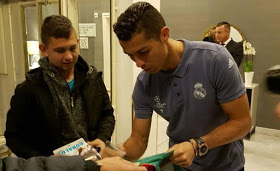 Real Madrid player Cristiano Ronaldo