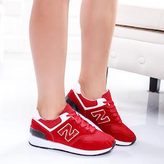 Pantofi sport Parfi rosii