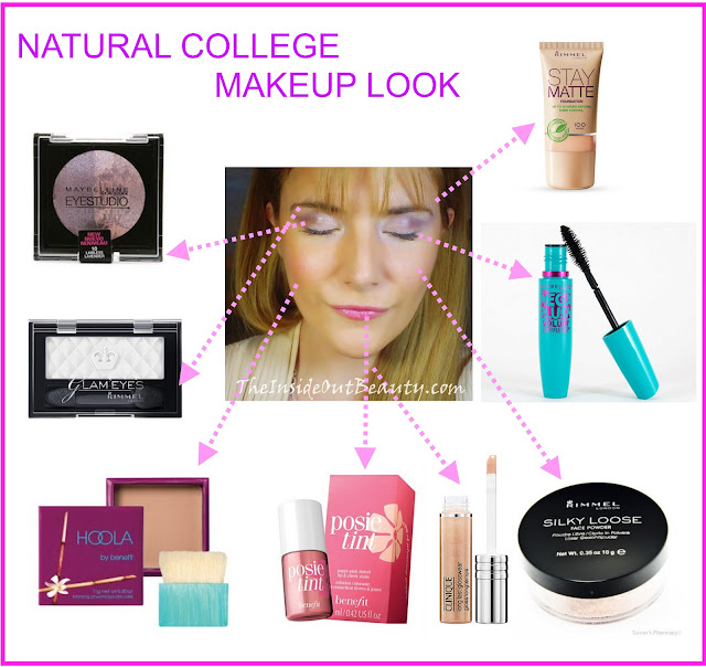 Makeup  E  A Tutorial Natural College Makeup Look  E  A