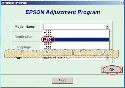 Cara Mudah Mengatasi Printer Epson L310 Lampu Tinta dan Kertas Berkedip Bergantian dengan Cara Reset