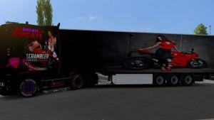 Trailer Ducati