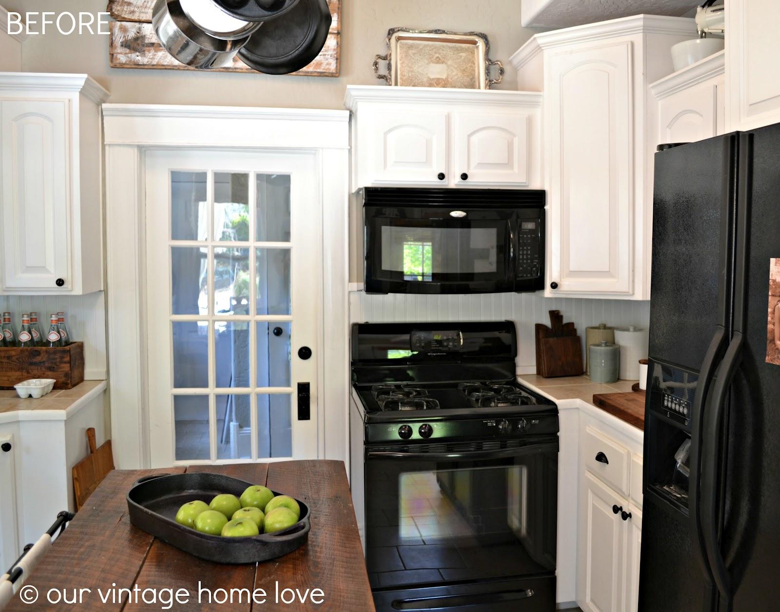 vintage home love big kitchen updates. Black Bedroom Furniture Sets. Home Design Ideas