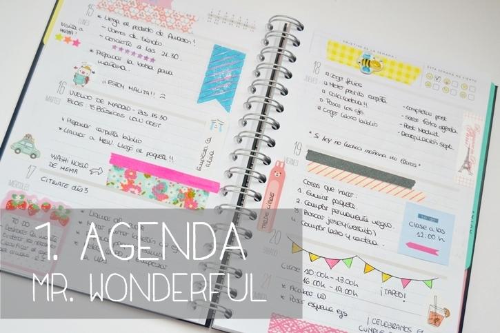 Material b sico para decorar tu agenda reto de la semana mi coqueta - Como decorar una agenda ...