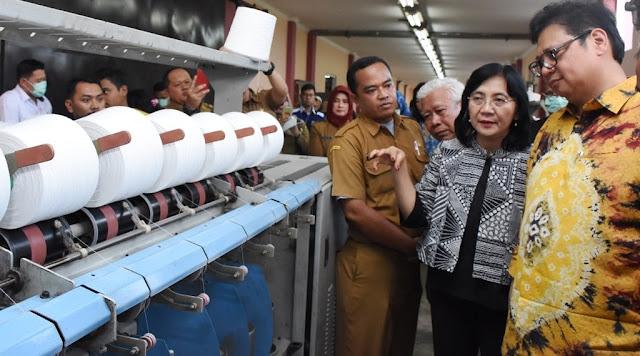 Industri Tekstil Bidik Ekspor USD 14 Miliar Tahun 2018