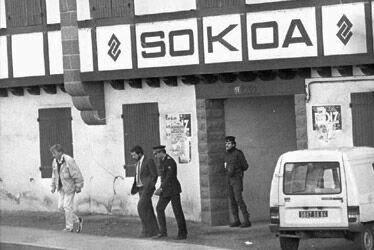 Resultado de imagen de archivos de ETA en la empresa Sokoa,