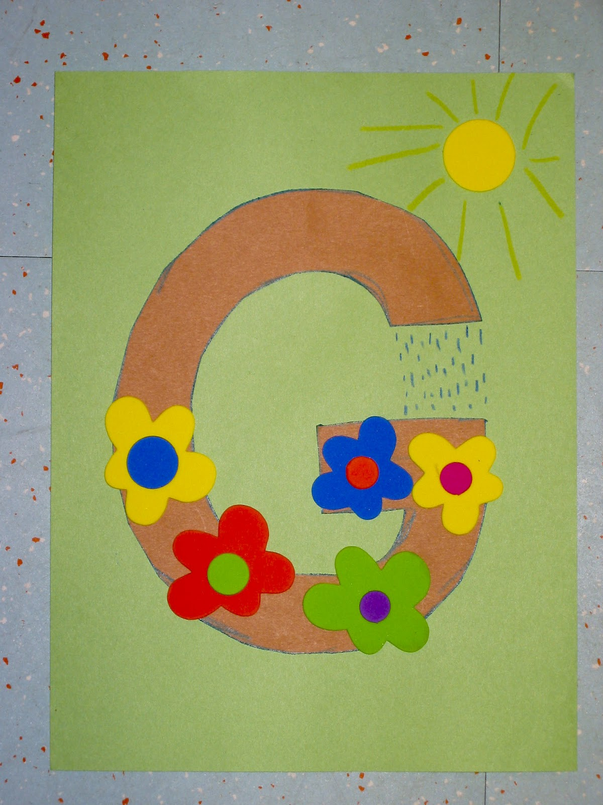 Alphabet Play G Is For Garden