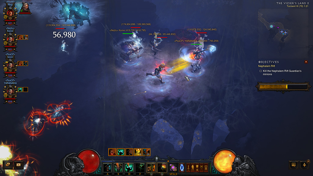 ぶろぐ: 【Diablo3】世界を股にかけるプロと遊ぶ日々
