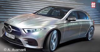 immagini della futura Mercedes Classe A 2018