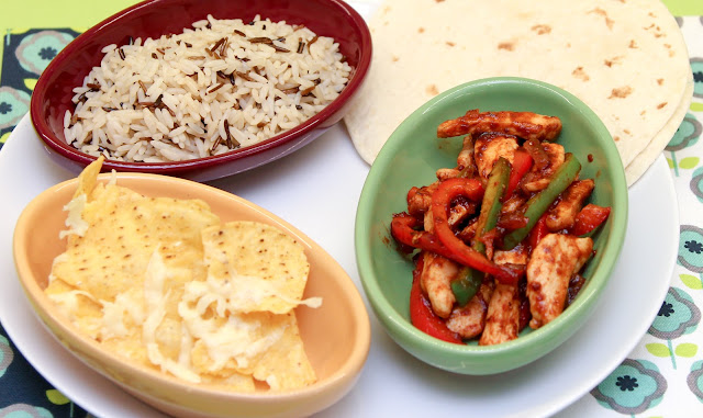 Mexican Meal made with Chilli & Honey Mexican Cook Sauce