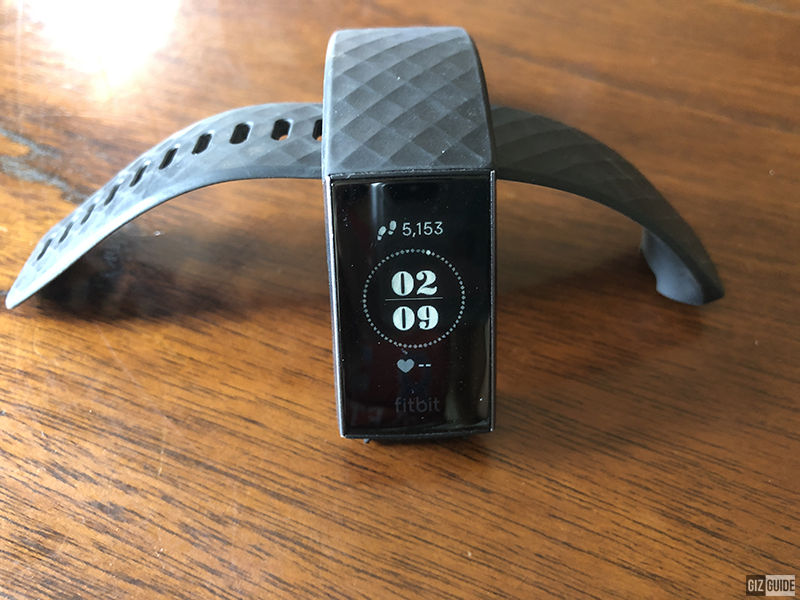 Fitbit grayscale OLED display